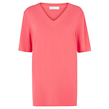 Buy Windsmoor V Neck Tunic Top, Coral Online at johnlewis.com