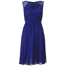 Buy Adrianna Papell Solid Stripping Dress, Night Online at johnlewis.com