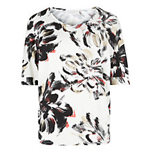 Buy Windsmoor Floral Jersey Top, Multi Online at johnlewis.com