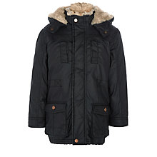 Buy John Lewis Boy Wax Look Jacket Online at johnlewis.com