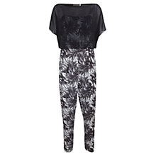 Buy Mint Velvet Mira Print Layer Jumpsuit, Multi Online at johnlewis.com