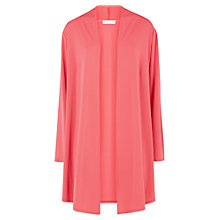 Buy Windsmoor Jersey Longline Jacket, Mid Pink Online at johnlewis.com