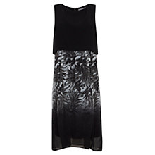 Buy Mint Velvet Mira Print Cape Top Dress, Multi Online at johnlewis.com