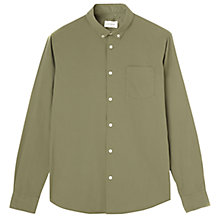 Buy Jigsaw Garment Dyed Paper Poplin Shirt Online at johnlewis.com