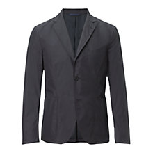 Buy Jigsaw Nylon Patch Pocket Slim Blazer, Graphite Online at johnlewis.com