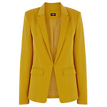 Buy Oasis Ponte Jacket, Ochre Online at johnlewis.com