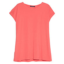 Buy Violeta by Mango Essential Cotton-Blend T-Shirt Online at johnlewis.com