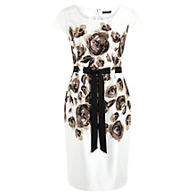 Buy Precis Petite Placement Print Shift Dress, Multi Online at johnlewis.com