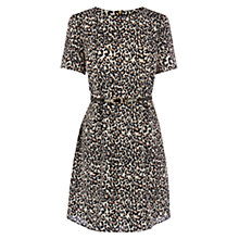 Buy Oasis Animal Shift Dress, Multi Online at johnlewis.com