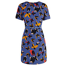Buy Oasis Pop Art Butterfly Dress, Blue/Multi Online at johnlewis.com