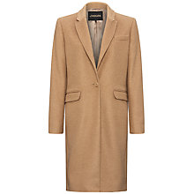 Buy Jaeger Camel Hair City Coat, Camel Online at johnlewis.com