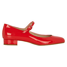 Buy Hobbs Tess Patent Mary-Jane Shoes Online at johnlewis.com