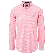 Buy Gant American Gingham Long Sleeve Shirt Online at johnlewis.com