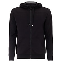 Buy BOSS Orange Saggy Tracksuit Hoodie, Black Online at johnlewis.com
