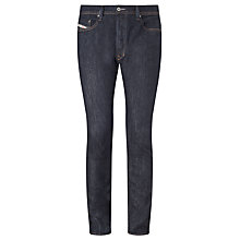 Buy Diesel Tepphar 0604B Slim Jeans, Raw Indigo Online at johnlewis.com