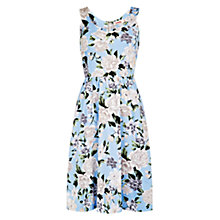 Buy Louche Sleeveless Dress, Blue Online at johnlewis.com