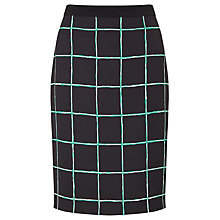 Buy BOSS Grid Pencil Skirt Online at johnlewis.com