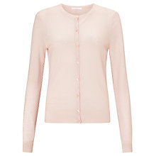 Buy BOSS Textured Cardigan, Light/Pastel Pink Online at johnlewis.com