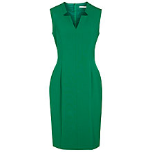 Buy BOSS Sleeveless Shift Dress, Open Green Online at johnlewis.com