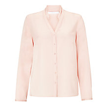 Buy BOSS Silk Blend Shirt, Light/Pastel Pink Online at johnlewis.com