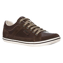 Buy Geox Leather Box Trainers Online at johnlewis.com