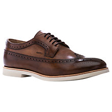 Buy Geox Manuel Leather Brogues, Cognac Online at johnlewis.com