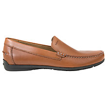 Buy Geox Simon Leather Moccasins Online at johnlewis.com