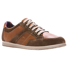 Buy Geox Copacabana Leather Suede Trainers Online at johnlewis.com
