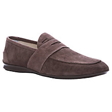 Buy Geox Gilles Suede Loafers Online at johnlewis.com