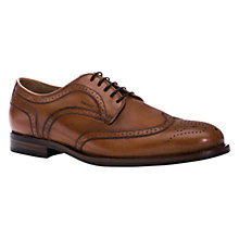 Buy Geox Hampstead Oxford Leather Brogues, Cognac Online at johnlewis.com