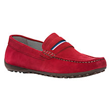 Buy Geox Snake Suede Moccasins Online at johnlewis.com