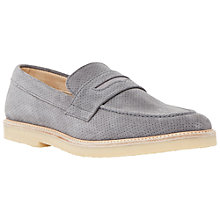 Buy Bertie Barking Perforated Suede Gum Sole Loafers Online at johnlewis.com