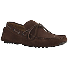 Buy Geox Soul Suede Driving Moccasins Online at johnlewis.com