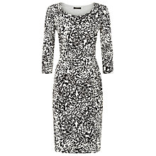 Buy Precis Petite Oyster Print Dress, Multi Dark Online at johnlewis.com
