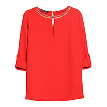 Buy Violeta by Mango Chain Detail Blouse Online at johnlewis.com