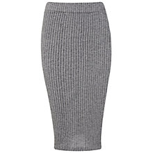 Buy Miss Selfridge Ribbed Pencil Skirt Online at johnlewis.com