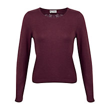 Buy Miss Selfridge Lace Back Jumper Online at johnlewis.com