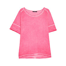 Buy Violeta by Mango Cotton-Blend T-Shirt Online at johnlewis.com