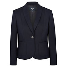 Buy Viyella Petite Structured Blazer, Navy Online at johnlewis.com