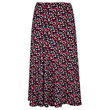 Buy Viyella Petite Confetti Print Skirt, Navy Online at johnlewis.com