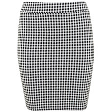 Buy Miss Selfridge Gingham Mini Skirt, Multi Online at johnlewis.com