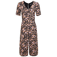 Buy Miss Selfridge Floral Culotte Jumpsuit, Multi Online at johnlewis.com