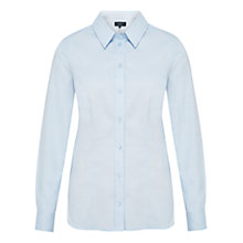 Buy Viyella Petite Oxford Shirt, Pale Blue Online at johnlewis.com
