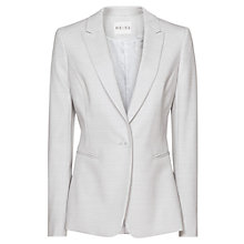 Buy Reiss Valentina Tailored Jacket, Blue Salt Online at johnlewis.com