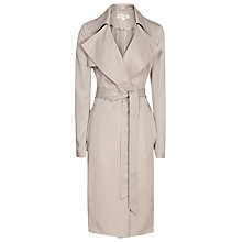Buy Reiss Radzi Trench Coat, Tiramisu Online at johnlewis.com