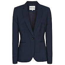 Buy Reiss Chatelaine Wool Blazer, Blue Online at johnlewis.com