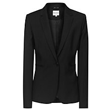 Buy Reiss Lee Fitted Blazer, Black Online at johnlewis.com