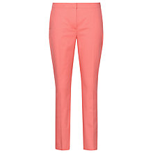 Buy Reiss Floyd Capri Summer Trousers, Coral Online at johnlewis.com