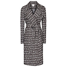 Buy Reiss Radzi Trench Coat, Black Online at johnlewis.com