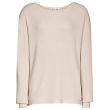 Buy Reiss Emma Belted Jumper, Oyster Online at johnlewis.com